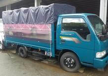 Xe 2 tấn 4, xe tải Thaco 2400kg thùng mui bạt. Mở 3 bửng