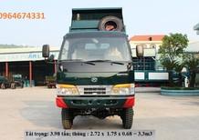 Quảng Ninh bán xe ben Chiến Thắng 1,2 tấn 3,48 tấn, 6,2 tấn 0964674331