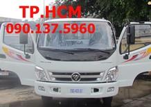 TP. HCM Thaco Ollin 345 2017, màu trắng, 385tr thùng mui bạt inox 304