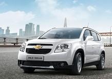 Cần bán xe Chevrolet Orlando LT 2017, màu trắng, giá cạnh tranh