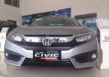 Honda Biên Hoà Bán ô tô Honda Civic 1.5 Turbo 2017, màu bạc, xe nhập giá sốc 898tr, hỗ trợ NH 80%