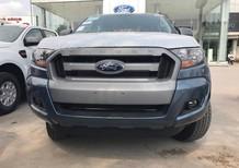Cần bán Ford Ranger XLS AT 2017, màu xanh lam, nhập khẩu nguyên chiếc, giá 655tr