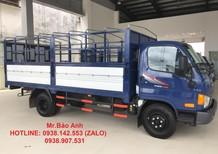 Bán trả góp xe HYundai HD650 thùng bạt tải trọng 6,5 tấn. Giá tốt 2017