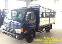Bán xe Hyundai HD650 6,4 tấn, thùng bạt mở 5 bửng. Hỗ trợ trả góp 75%