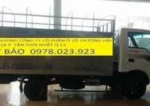 Chuyên bán kia thaco k165 s tải 2 tấn 4, xe kia k165 thùng inox tải 2400 kg thùng mui bạt
