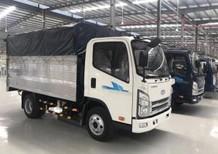 Bán xe tải Isuzu 2,4 tấn thùng bạt Inox, giao xe ngay