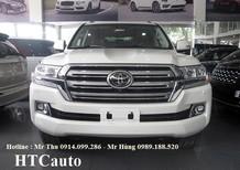 xe Toyota Land Cruiser 5.7 2016 nhập Mỹ, màu trắng