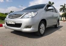 Cần bán Toyota Innova G xịn đời 2011, màu bạc, giá chỉ 479 triệu