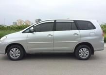 Bán Toyota Innova 2.0G bản đủ đời 2010, màu bạc, giá 415tr