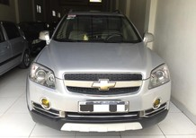 Cần bán lại xe Chevrolet Captiva LT Maxx đời 2009, màu bạc