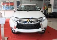 Bán Mitsubishi Pajero Sport sản xuất 2017, màu trắng, nhập khẩu