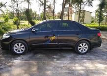 Cần bán xe Toyota Corolla altis đời 2012, màu đen, 590tr