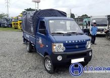 Xe tải Dongben 870kg màu trắng, thùng dài 2m5, động cơ vượt trội