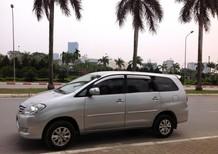 Bán xe Innova 2.0G màu ghi bạc sx cuối 2011. Lh Ms Huyền 0968788526 chính chủ