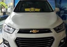 Bán xe Chevrolet Captiva 2017, màu trắng, giá chỉ 825 triệu, bán trả góp nhanh