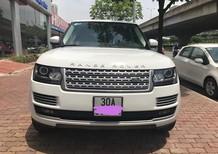 Bán xe LandRover Range rover HSE 2014, màu trắng đăng ký 2015, biển Hà Nội