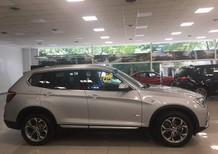 Cần bán xe BMW X3 xDrive20i sản xuất năm 2017, màu bạc, xe nhập