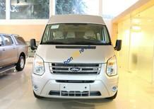 Bán Ford Transit Medium năm sản xuất 2016, màu bạc, giá 780tr
