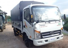 Bán xe tải Veam VT252-1 thùng dài 4m1, tải 2,4T chạy trong phố ban ngày