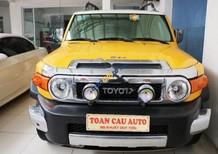 Cần bán Toyota Fj cruiser 4.0AT năm sản xuất 2007, màu vàng, nhập khẩu