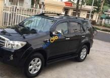 Cần bán xe Toyota Fortuner 2.7G AT 4x4 sản xuất 2009, màu đen xe gia đình