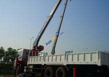 Xe tải gắn cẩu 7 tấn Atom - xe tải Trường Giang gắn cẩu Atom 7 tấn