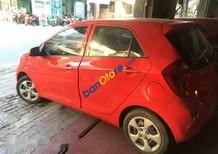 Bán xe cũ Kia Morning sản xuất 2013, màu đỏ, xe đẹp, máy móc êm ái, bao test