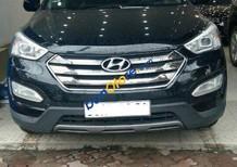 Bán xe Hyundai Santa Fe SLX 2.2 CRDi AT năm 2012, màu đen, nhập khẩu nguyên chiếc