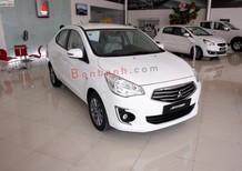 Cần bán Mitsubishi Attrage  Tại Đà Nẵng , màu trắng, nhập khẩu chính hãng , LH Quang 0905596067
