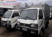 Thaco Towner800 tải trọng chở hàng 900kg, xe tải Towner800 Euro4, xe tải 700kg, xe tải 1 tấn