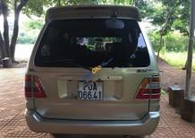 Cần bán gấp Toyota Zace GL đời 2004, màu ghi vàng
