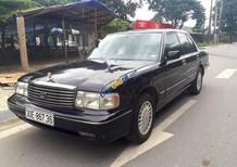 Bán Toyota Crown Super Saloon 3.0 MT đời 1995, màu đen, xe nhập chính chủ