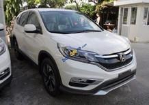 Bán Honda CR V 2.4AT đời 2017, màu trắng