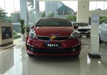 Kia Rio 2017 Sedan số tự động, nhập khẩu, màu đỏ, giá hấp dẫn- Kia Vĩnh Phúc, 0979.428.555
