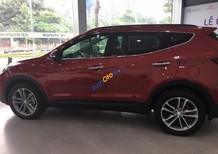Bán ô tô Hyundai Santa Fe đời 2017, màu đỏ
