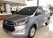 Toyota Innova 2.0E 2017, màu bạc, hỗ trợ trả góp 80%, mua xe chỉ với 200 triệu, lãi suất thấp 6.8%/tháng