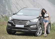 Bán ô tô Hyundai Santa Fe 2017 Đà Nẵng, lh: Xuân Tùng - 0906.409.199, chỉ cần 300 triệu nhận xe ngay.
