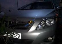Cần bán Toyota Corolla Altis 1.8MT đời 2009, màu bạc