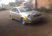 Cần bán xe Daewoo Lacetti MT sản xuất 2004, màu vàng đã đi 160000 km, giá chỉ 157 triệu