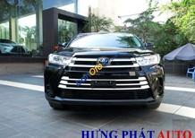Cần bán Toyota Highlander 2.7 năm 2017, màu đen, xe nhập