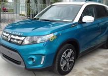 Bán xe Suzuki Vitara 2017 màu xanh dương nóc trắng, xe giao ngay, đủ màu - LH: 0985547829