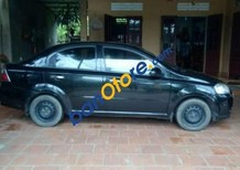 Cần bán lại xe Daewoo Gentra sản xuất 2008, màu đen, giá tốt