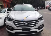 Cần bán gấp Hyundai Santa Fe CRDi 4WD sản xuất 2016, màu trắng