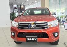 Toyota Hilux 2.4E 2017 tặng trước bạ, hỗ trợ trả góp lên tới 90%, hotline: 097.141.3456