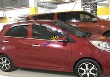 Bán ô tô Kia Morning Si AT sản xuất 2015, màu đỏ số tự động