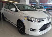 Cần bán Toyota Vios 1.5 TRD đời 2017, màu trắng