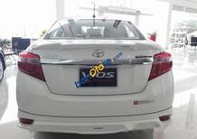 Cần bán xe Toyota Vios 2017, màu trắng