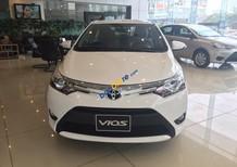 Cần bán Toyota Vios 1.5G (CVT) 2017, màu trắng - Khuyến mại cực lớn