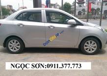 Cần bán xe Hyundai Grand i10 , màu bạc, LH Ngọc Sơn: 0911.377.773
