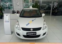 Bán Suzuki Swift 2017, màu trắng, giá tốt - LH: 0985.547.829